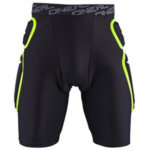 Short TRAIL - SHORT - LIME BLACK  Black
