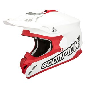 Casque cross VX-15 EVO AIR - WHITE RED 2018 Blanc/Rouge