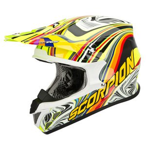 Casque cross VX-20 AIR - SYM 2017 Jaune fluo/multi