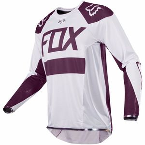 Maillot cross FLEXAIR - EDITION LIMITEE KEN ROCZEN 2017 Blanc/Bordeaux