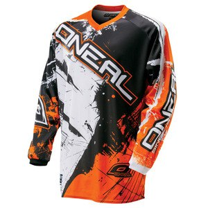 Maillot Cross O'neal Element Shocker Youth - Noir Orange - 2018