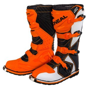Bottes cross RIDER - ORANGE 2020 Orange
