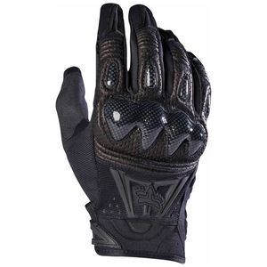 Gants cross BOMBER - FULL BLACK 2019 Noir