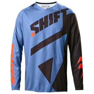 Maillot Cross Shift Destockage 3lack Mainline - Bleu 2017