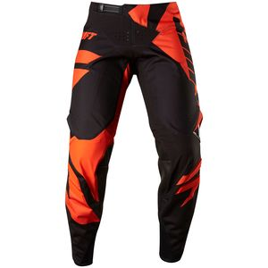 Pantalon cross 3LACK MAINLINE  - NOIR ORANGE 2017 Noir/Orange