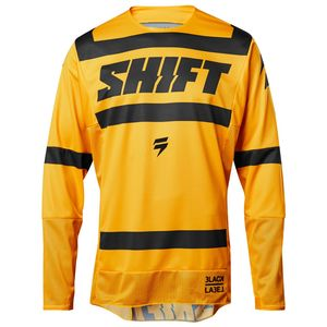 Maillot Cross Shift Black Strike - Jaune- 2018