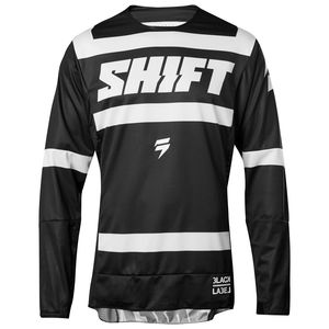 Maillot Cross Shift Black Strike - Noir Blanc - 2018