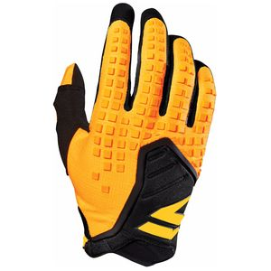 Gants cross BLACK PRO - JAUNE - 2018 Jaune