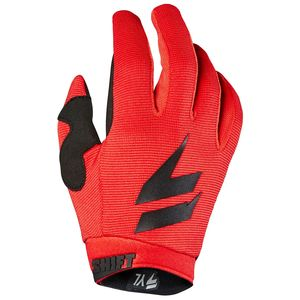 Gants Cross Shift Youth White Air - Noir Rouge - 2019