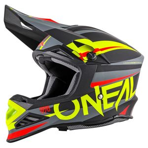 Casque Cross O'neal 8 Series - Aggressor - Black Hi-viz 2019
