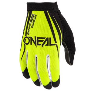 Gants Cross O'neal Amx Blocker - Noir Jaune Fluo - 2018