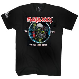 T-Shirt manches courtes MOTO XXX WORLD TOUR 2017  Black