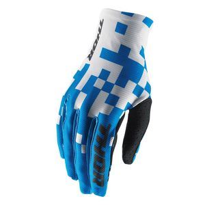 Gants Cross Thor Void Bits - Bleu Blanc - 2018