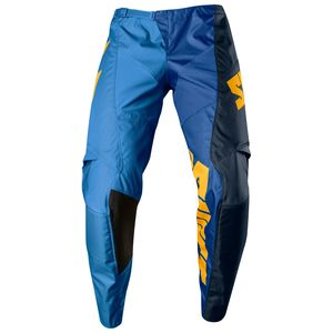 Pantalon Cross Shift White Tarmac - Bleu Jaune - 2018