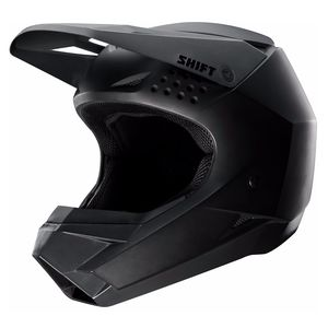 Casque Cross Shift Whit3 - Noir Mat - 2019