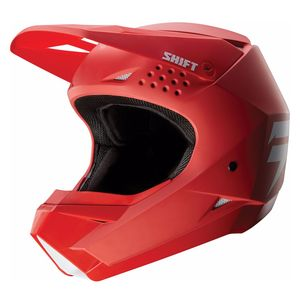 Casque cross WHITE - ROUGE - 2020 Rouge
