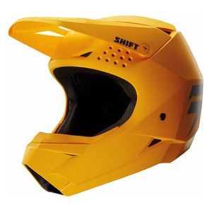Casque cross WHITE - JAUNE - 2018 Jaune