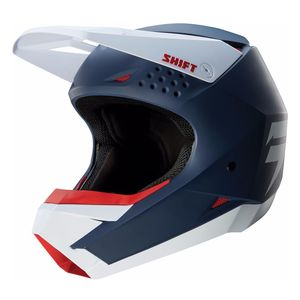 Casque Cross Shift White - Bleu Marine - 2018