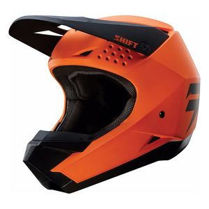 Casque Cross Shift White - Orange - 2018