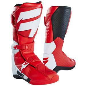 Bottes Cross Shift White - Rouge - 2019