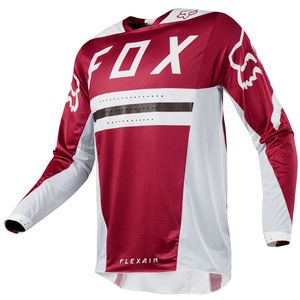Maillot Cross Fox Flexair Preest - Rouge Fonce - 2018