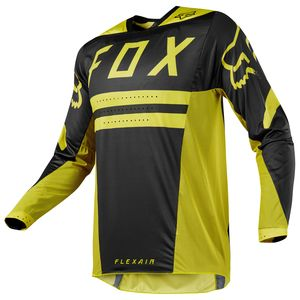 Maillot Cross Fox Flexair Preest - Jaune Fonce - 2018