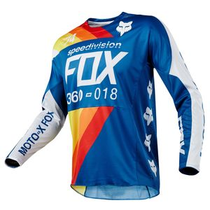 Maillot Cross Fox 360 Draftr - Bleu - 2018