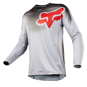 Maillot Cross Fox 360 Viza - Gris - 2018