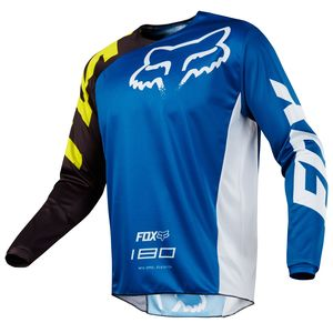Maillot Cross Fox 180 Race - Bleu - 2018