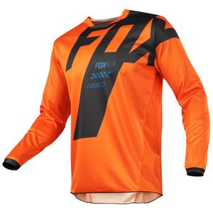Maillot cross 180 MASTAR - ORANGE -  2018 Orange