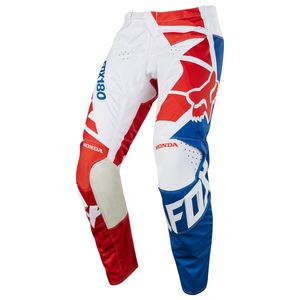 Pantalon cross 180 HONDA - ROUGE -  2018 Rouge