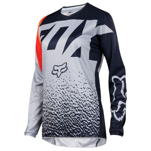 Maillot Cross Fox 180 Womens - Gris Orange - 2018