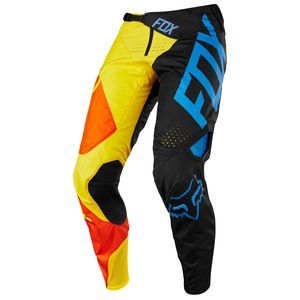 Pantalon Cross Fox 360 Youth Preme - Noir Jaune - 2018