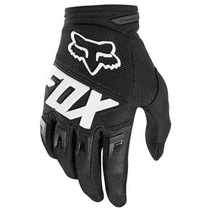 Gants Cross Fox Dirtpaw Youth Race - Noir - 2018