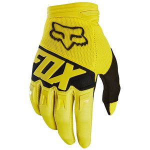Gants Cross Fox Dirtpaw Youth Race - Jaune - 2018