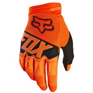 Gants Cross Fox Dirtpaw Youth Race - Orange - 2018