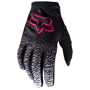 Gants Cross Fox Dirtpaw Youth Girls - Noir Rose - 2018