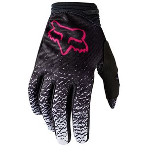 Gants cross DIRTPAW WOMENS - NOIR ROSE -  2018 Noir/Rose