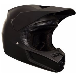 Casque Cross Fox V3 Matte Carbon - Black Matt 2019