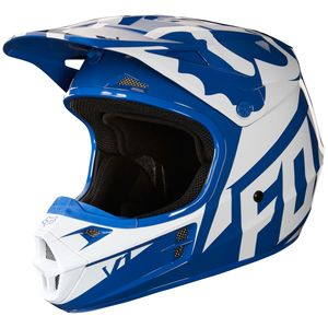 Casque cross V1 RACE - BLEU -  2018 Bleu