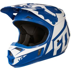 Casque Cross Fox V1 Youth Race - Bleu - 2018