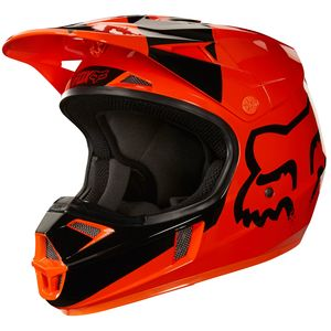 Casque Cross Fox V1 Youth Mastar - Orange - 2018