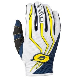 Gants cross ELEMENT - BLUE YELLOW 2019 Bleu/Jaune