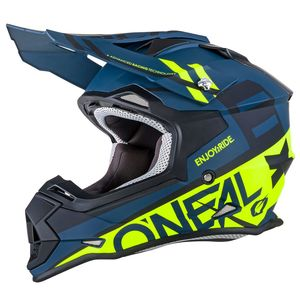 Casque Cross O'neal 2 Series Rl - Spyde - Black Hi-viz 2019