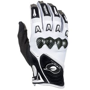 Gants Cross O'neal Butch Carbon- Blanc - 2018