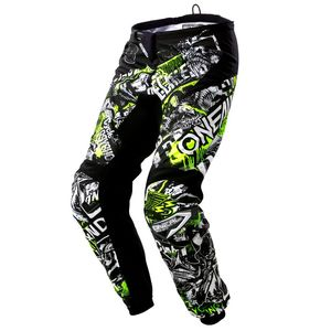 Pantalon cross ELEMENT - ATTACK - BLACK HI-VIZ 2021 Black/yellow