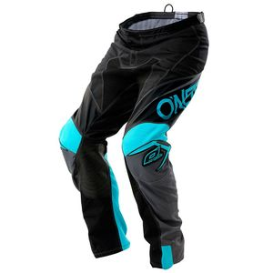 Pantalon Cross O'neal Mayhem Blocker - Noir Gris Bleu - 2018