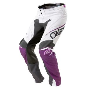 Pantalon Cross O'neal Mayhem Blocker - Violet Blanc - 2018