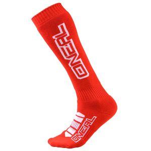 Chaussettes MX - CORP - RED  Rouge