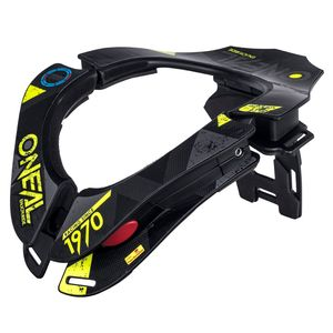 Protection cervicale TRON - ASSAULT 2019 Noir/Jaune/Bleu
